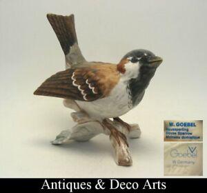 Goebel-Porcelain-Bird-Figurine-House-Sperling