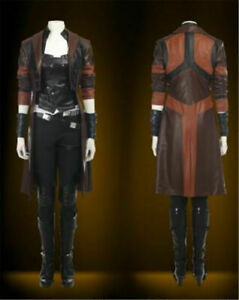 Guardians Of The Galaxy 2 Gamora Costume Fancy Dress Cosplay Costume All Size