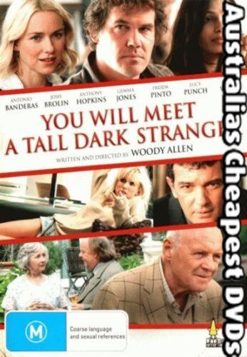 1 of 1 - You Will Meet A Tall Dark Stranger DVD NEW, FREE POSTAGE WITHIN AUSTRALIA REG 4