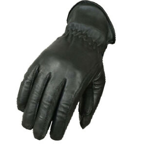 Gants-Noir-chopperhandschuhe-Rodeo-Gants-Western-gants