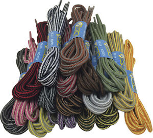185bbdedae4 Image is loading ROUND-WALKING-BOOT-HIKING-BOOT-LACES-BOOTLACES-120cm-