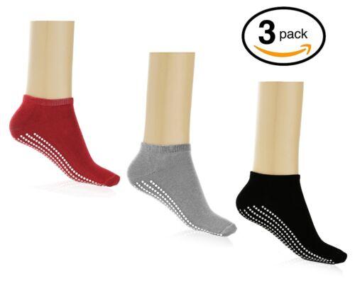 Multipack of Non Slip Yoga Socks for Women Men and Girls for Yoga pilates,