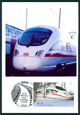 BUND MK EISENBAHN ICE TRAIN PRIVATE!! MAXIMUMKARTE CARTE MAXIMUM CARD MC CM bu99