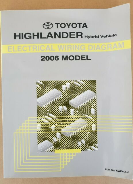 Toyota Highlander Hybrid Electrical Wiring Diagram 2006