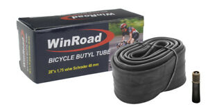Bike-Inner-Tube-28-x-1-75-Schrader-48-mm-Auto-Valve