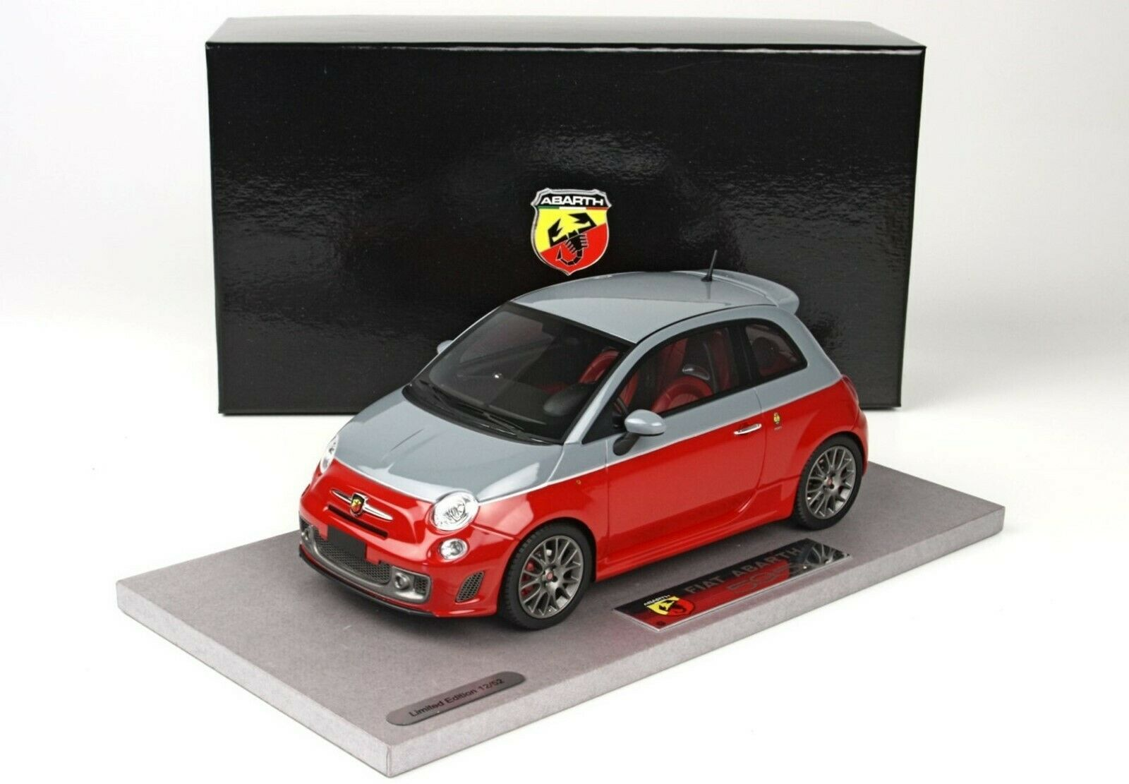 Abarth Fiat 595 2013 limited to 52 PIECES BBR BLM1817B 1 18