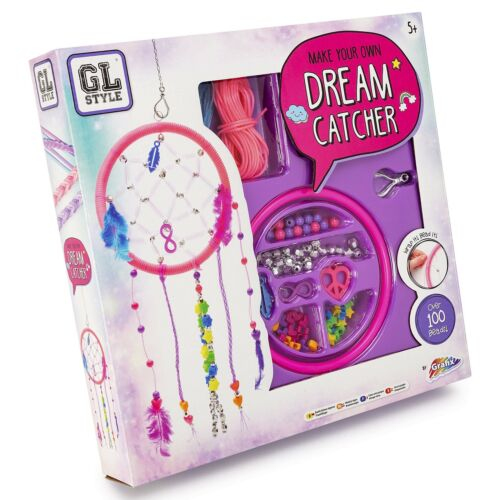 Grafix Make Your Own Dream Catcher Contains hundreds of beads and sequins.