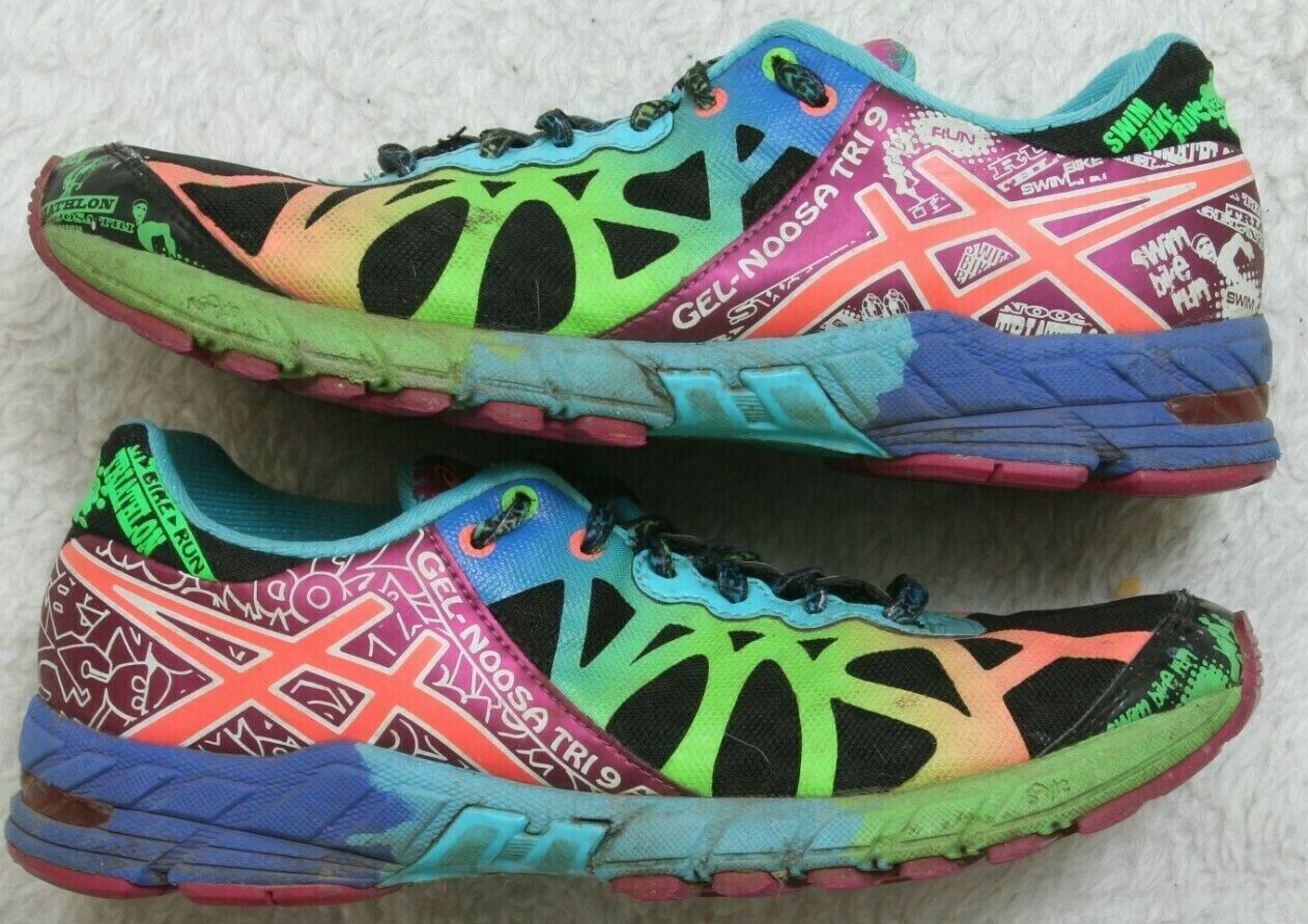 Asics Running shoes 7.5 Seven 1 2 Woman's Gel Noosa Tri 9 Multi colord 39 Euro