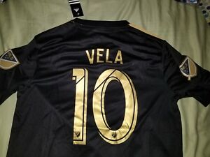 1555411ba Image is loading Carlos-Vela-LAFC-Jersey-10-Home