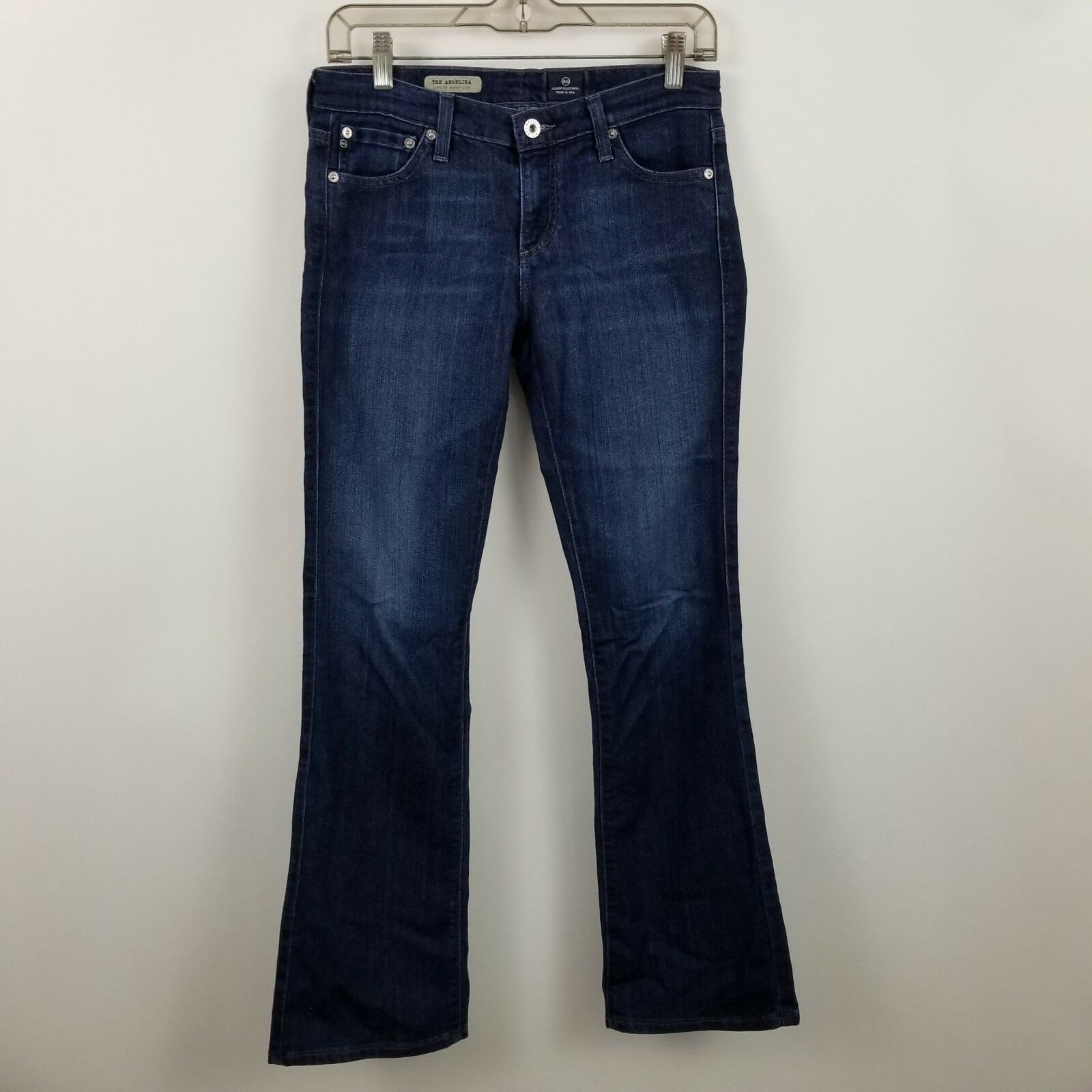 AG Adriano goldschmied The Angelina Petite Boot Cut Womens bluee Jeans Size 27r