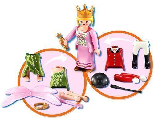 PLAYMOBIL 6528 Multiplay Figure 3 en 1 Princesse Fée ou Cavalière