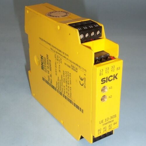 SICK INTELLIFACE 24VDC SAFETY RELAY UE 10-30S3D0 *PZF*
