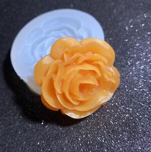 Fiori Rose fondente resina resin SILICONE FORMA epossidica forma epossidica resina sapone stampo