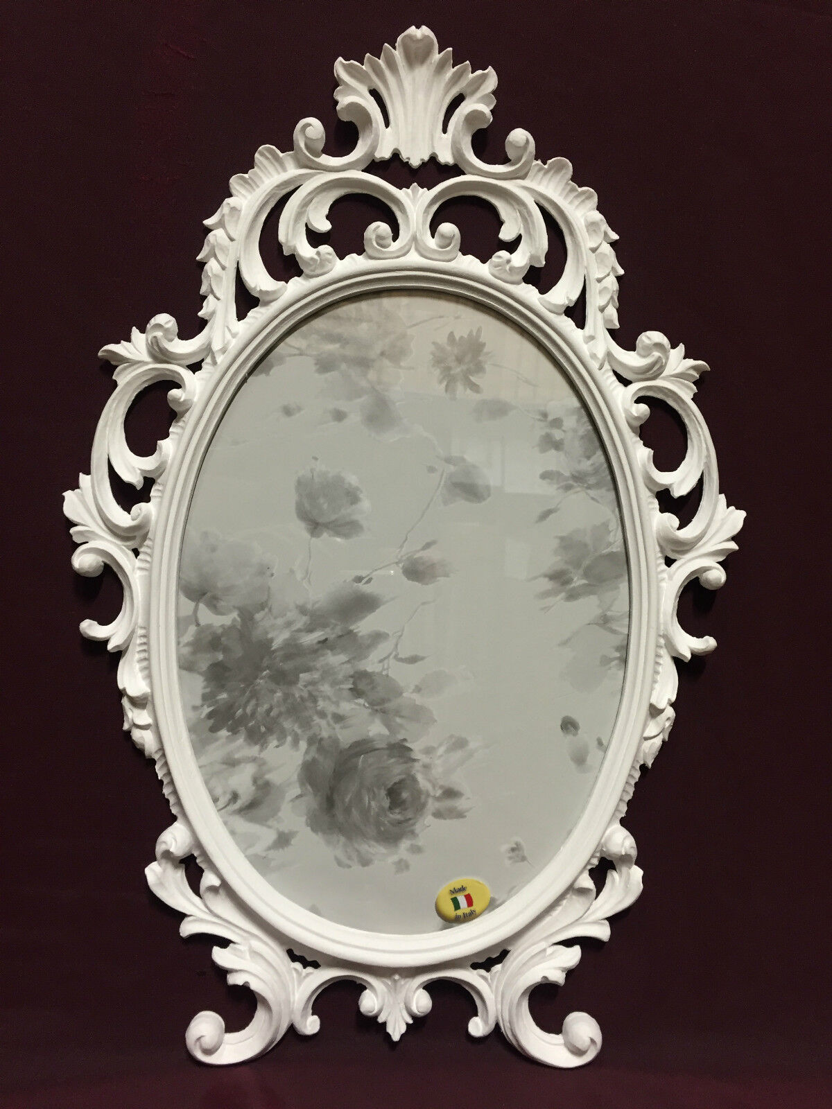 Marcos barroco blancoo alto brillo oval 43x27 43x27 43x27 marcos Antik foto marco c531 bd55d3