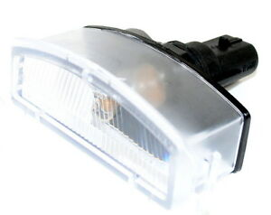 Nissan-Micra-K12-Rear-Bumper-Number-Plate-Light-Lamp-Unit-New-Genuine-26510BG00A