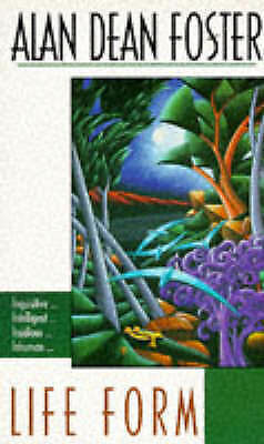 Alan Dean Foster Life Form Very Good Book
