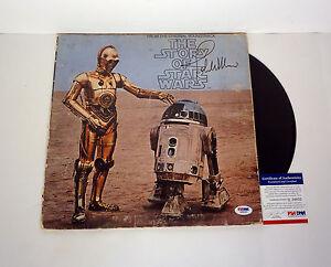 John-Williams-Signed-The-Story-of-Star-Wars-Vinyl-Record-Album-PSA-DNA-COA