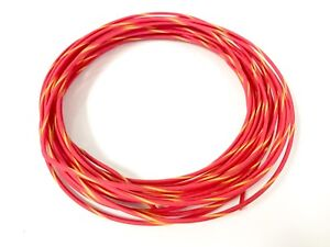 Reel Of 100 Feet Automotive Wire 18 Awg High Temp Txl Wire Red W