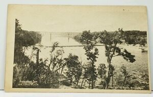Minneapolis-MN-Government-Dam-and-Locks-udb-Postcard-J10