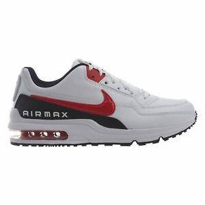 29085f909b Nike Air Max LTD 3 Mens BV1171-100 White Red Black Leather Running ...