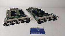 Brocade Foundry SuperX Lot of 2 SX-FI424P 24 copper PoE ports **Warranty**