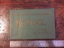 Original 1913 Kendal 'A Gateway To The Lakes' Guidebook. Photos, Advertisements