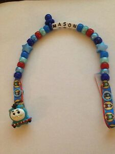 - Handmade Personalised Dummy Clips Superman - Any Name