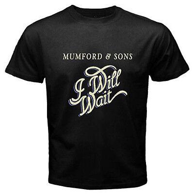 Mumford And Sons I Will Wait British Folk Band Men/'s Black T-Shirt Size S to 3XL