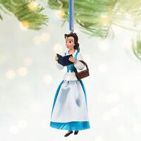 Disney Store Belle Variant Sketchbook Ornament - Limited Release 1/3000