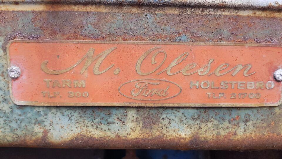 Har ikke været startet i 15 år...  diesel 3 cyl.