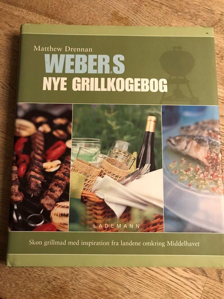 Webers nye Grillkogebog, Matthew Drennan, emne: mad og vin