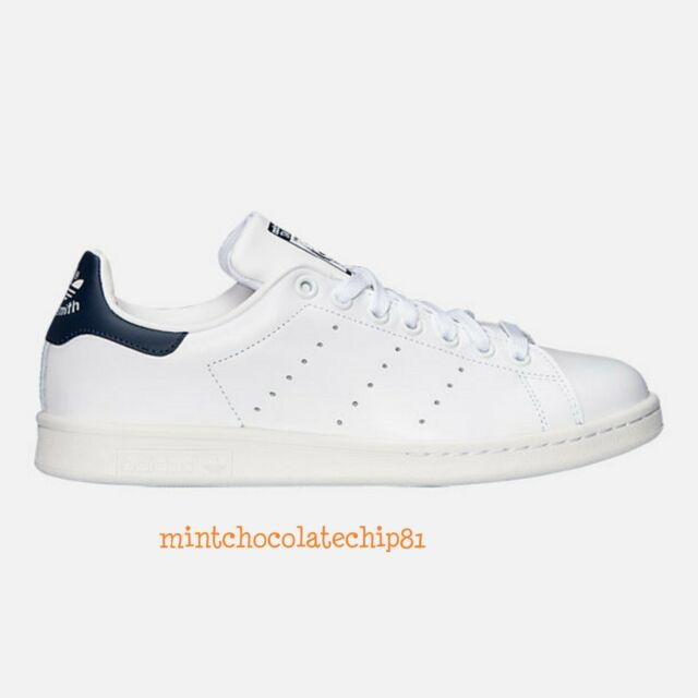 Adidas Mens Stan Smith trainers Size 10 White leather shoes grey sneakers us 44