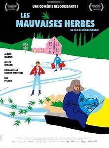 Affiche-Pliee-120x160cm-LES-MAUVAISES-HERBES-2017-Alexis-Martin-Renaud-NEUVE