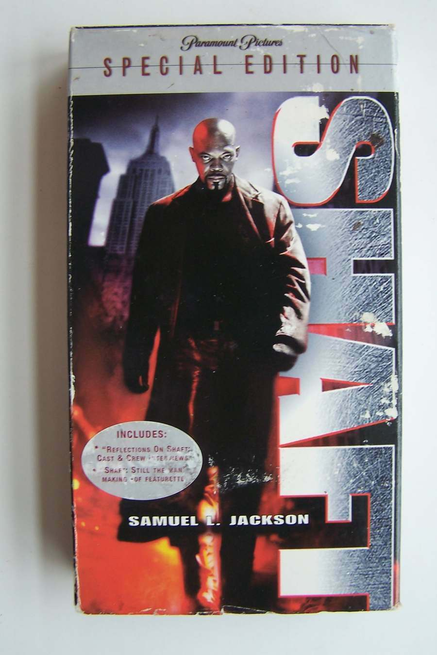 Shaft (Special Edition) VHS Video Tape 2000