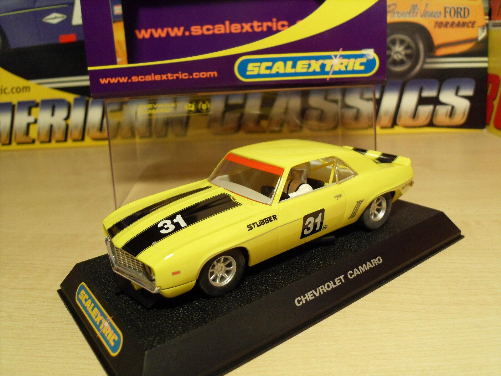 Scalextric C2759 Camaro Stubber - Brand New in Box.