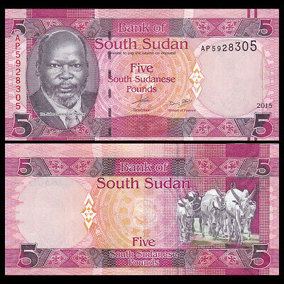 Lot 10 PCS SD SUDN SUDAN 2 Pounds 2017 P-71 NEW UNC