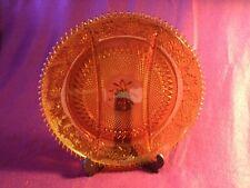 Large Indiana Glassware Divided Serving Platter-Tiara pattern in Amber