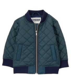 Gymboree Navy Quilted Jacket