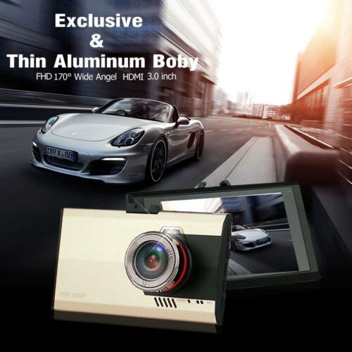 "HD 1080P 3.0/"" Car Tachograph DVR video Camera Dash Night Vision Cam G-sensor GA"