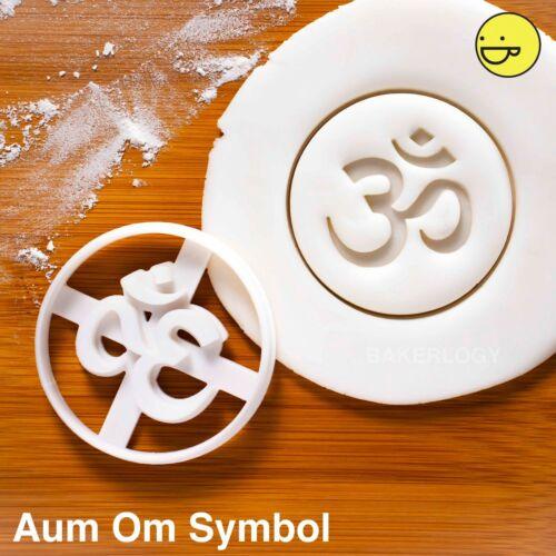 AUM OM Symbole Cookie CutterYoga Chakra Méditation Namaste Sanskrit zen