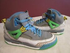 NIKE AIR JORDAN SPIZIKE STEALTH EASTER (317321 056)BASKETBALL SNEAKERS SIZE 4.5Y