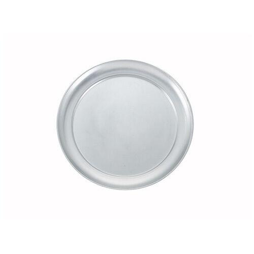 Winco APZT-8 8-Inch Wide Rim Round Aluminum Pizza Pan