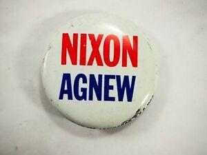 Nixon-Agnew-Politico-Campaign-Pin-Back-Boton-3-6cm-35-6mm