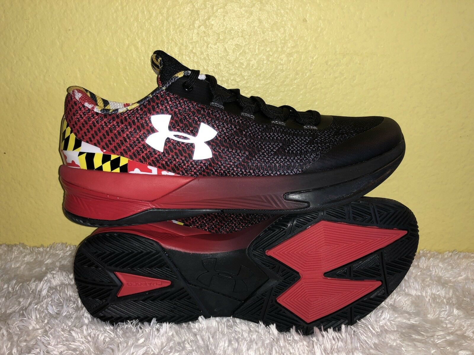 check out cfc27 57eeb Men s Under Under Under Armour Charged Controller Maryland Terrapins  Athletic Shoes Size 9 abf405