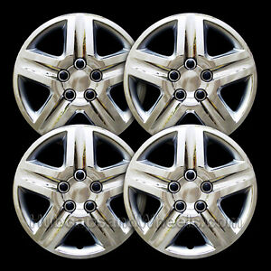 """NEW Chevy IMPALA Monte Carlo 16/"""" BLACK Hubcaps Wheelcover Replacement SET of 4"""