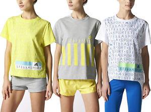Adidas-X-Stella-McCartney-Femmes-StellaSport-Printed-T-Shirt-Gym-Yoga-Fitness