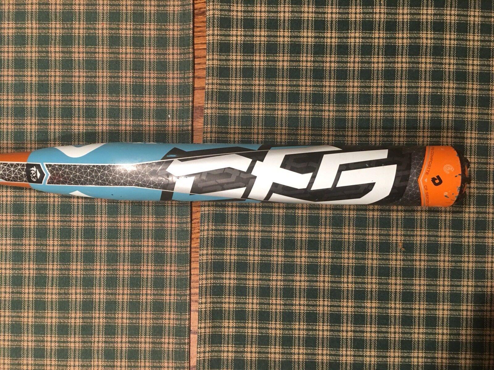 RARE MUST SEE  2012 DEMARINI CF5 SPRITE FASTPITCH SOFTBALL BAT 30 19 (-11) CFS12