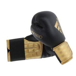 616713943a Adidas Boxe Gants Noirs Thai Boxing Entraînement 8oz 283 Gr 12oz ...