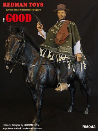 REDMAN TOYS 1//6 West Cowboy The Good the Bad and the Ugly Action Figure Model