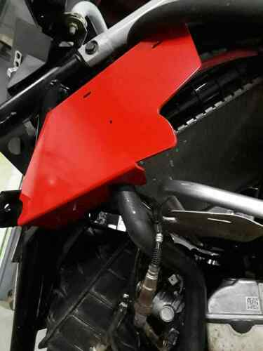 Polaris rs1 RS1 rear radaitor guards shields air scoops protection black powder